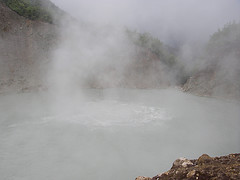 Dominica Ecotourism: Close Up of the Boiling Lake