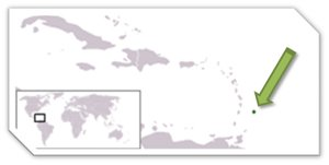 Where is Barbados Located Map